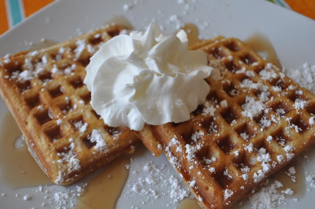 Whole Wheat Waffles | Suz Daily