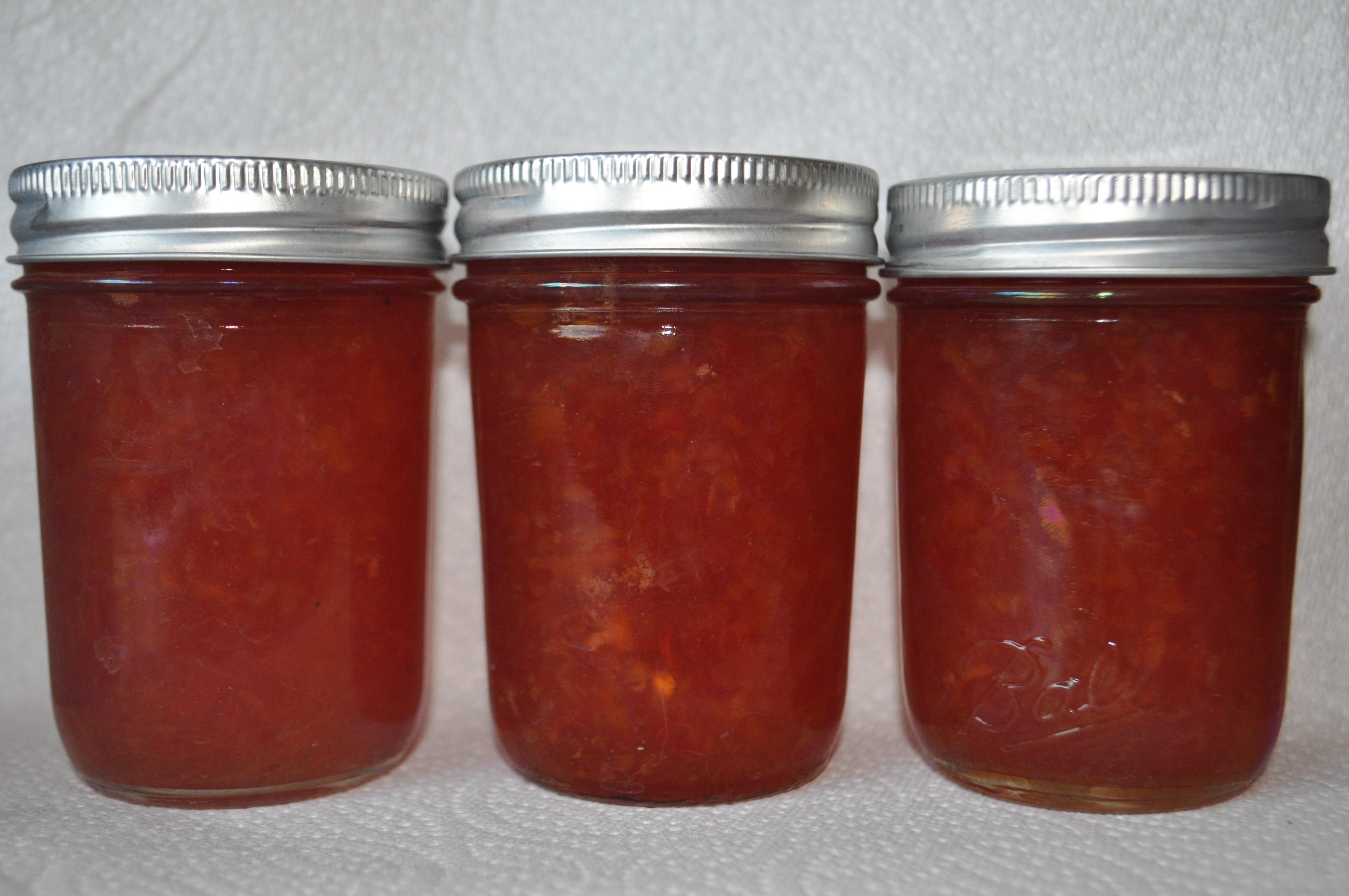 Apricot Habanero Jelly