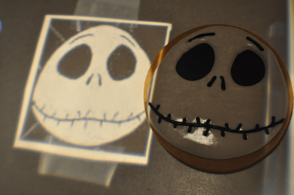 How to make a Jack Skellington Cookie – How to make a Nightmare ...