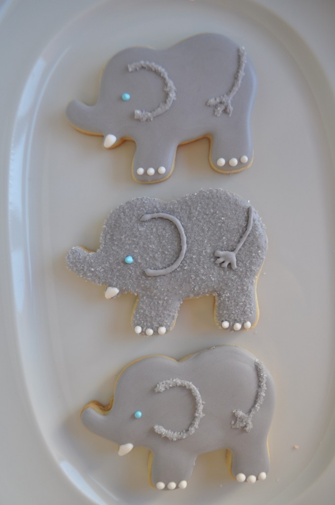How to make an Elephant Cookie – Suz Daily