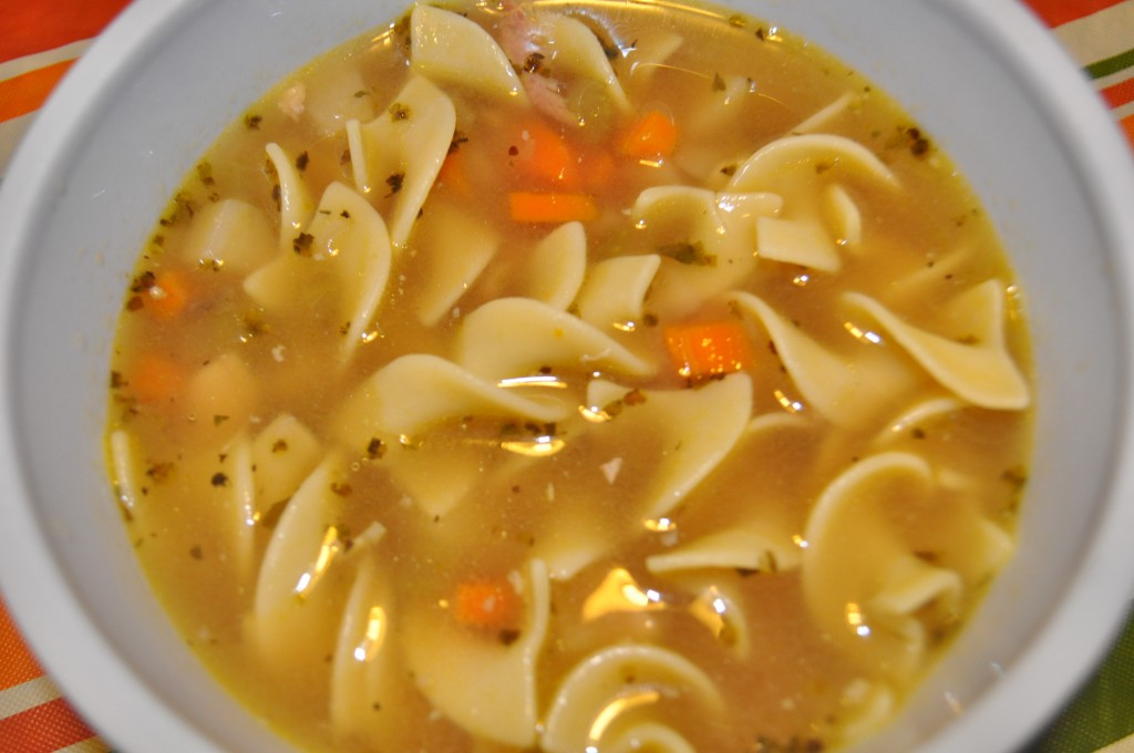 Homemade Chicken Noodle Soup Simple homemade chicken noodle