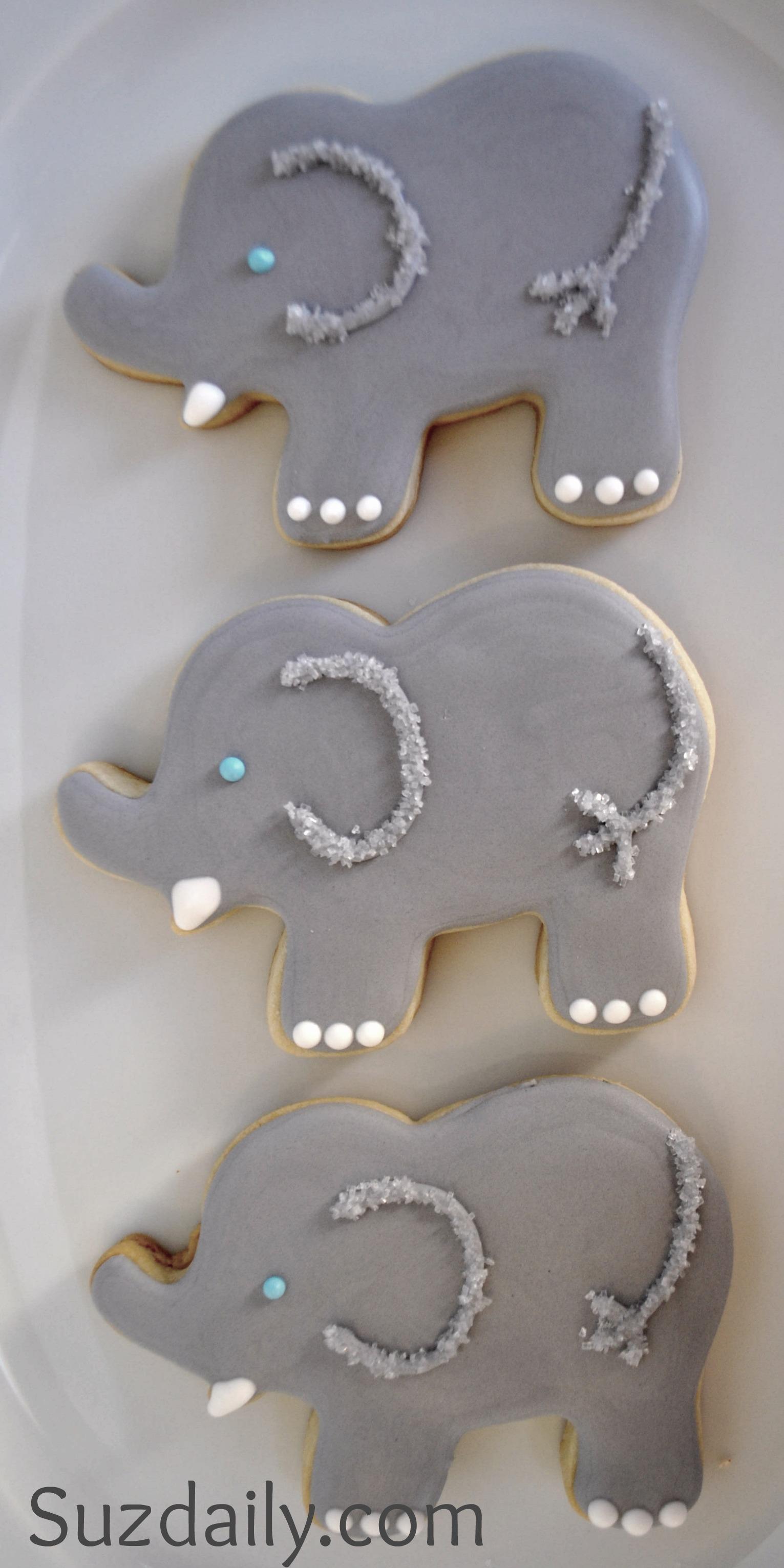 How to make an Elephant Cookie