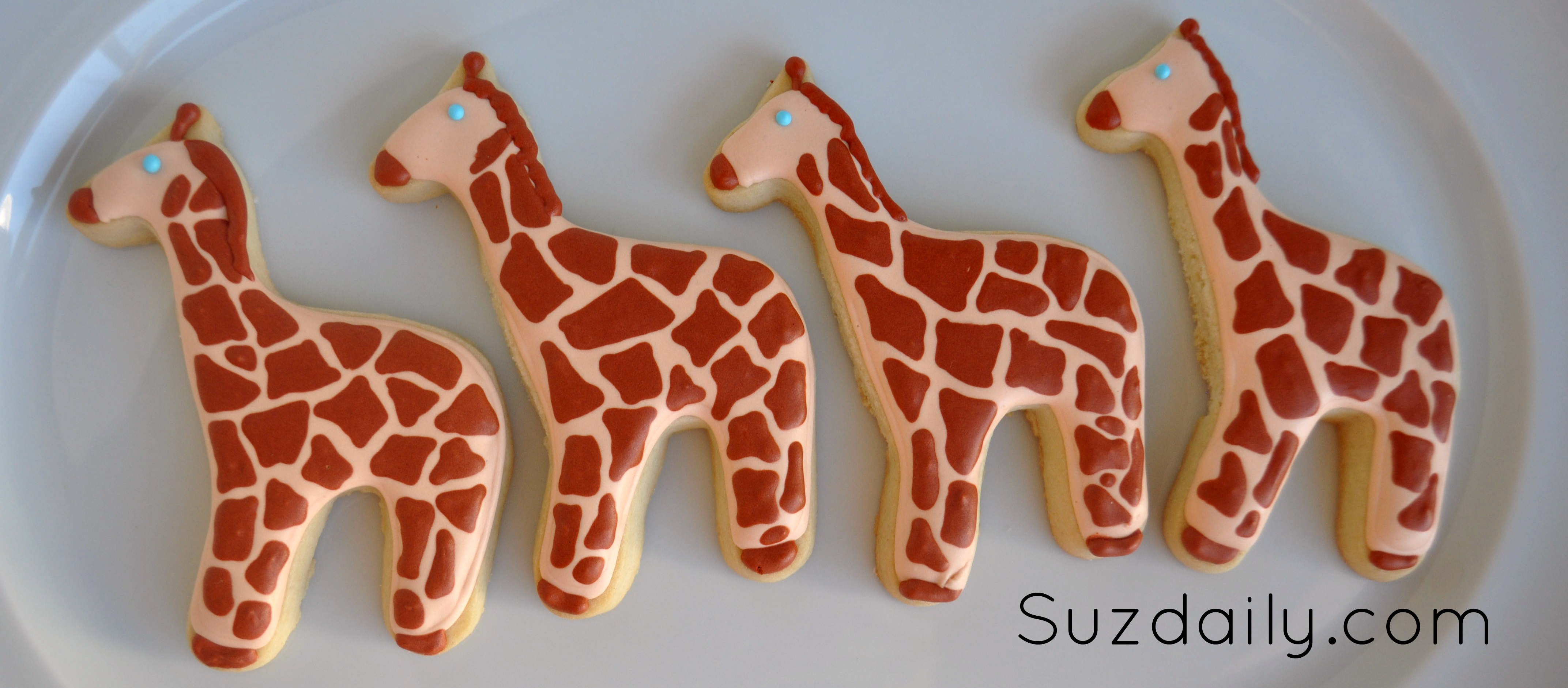How to make a Giraffe Cookie