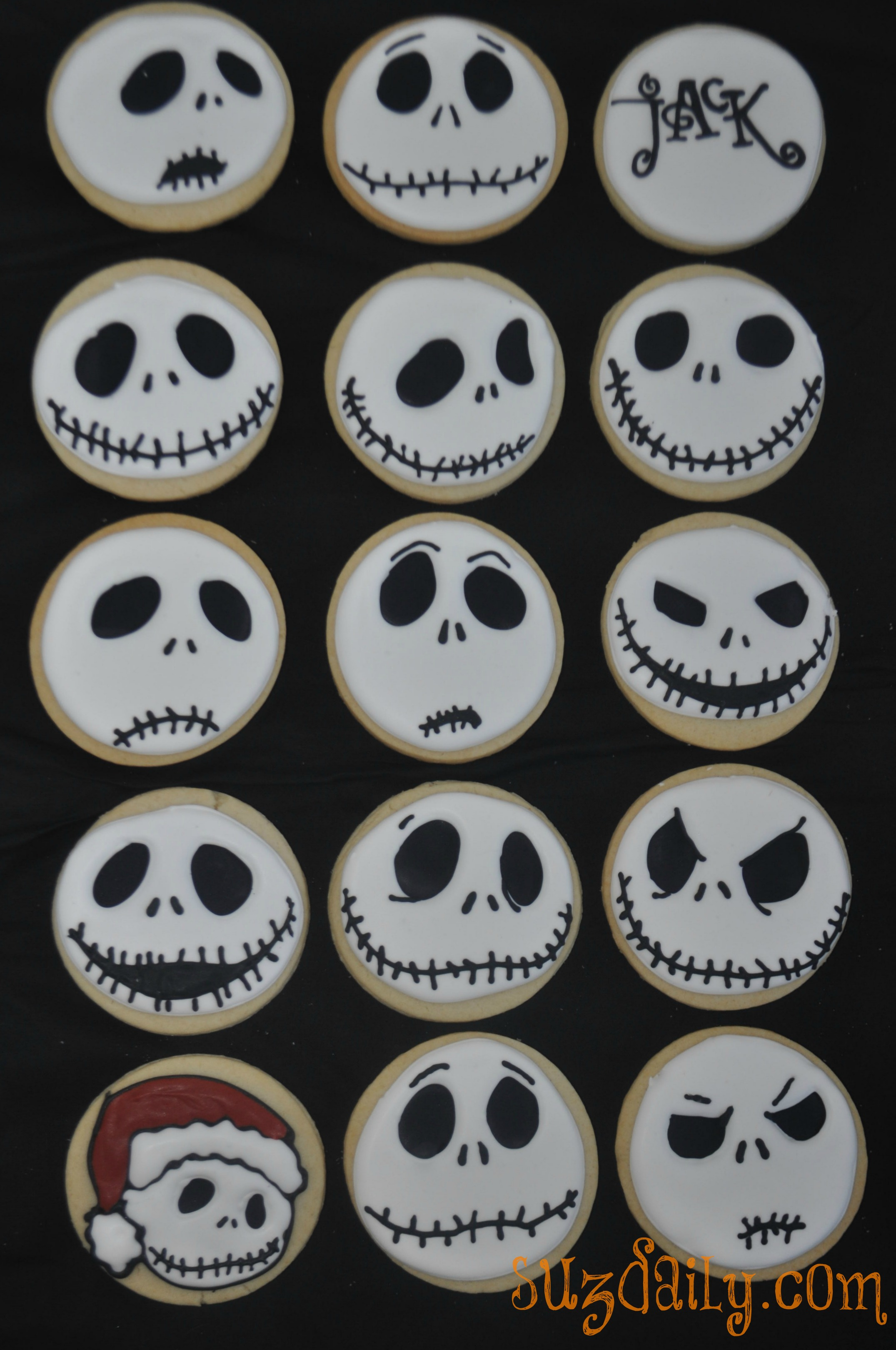 Nightmare Before Christmas Cup Cake