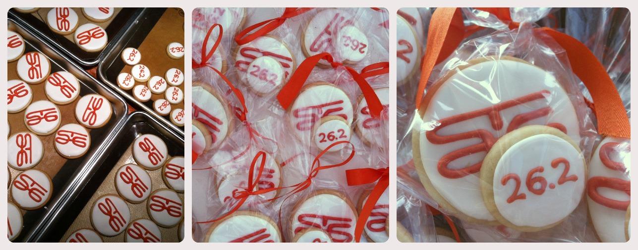 St. George Marathon Cookies | Suz Daily
