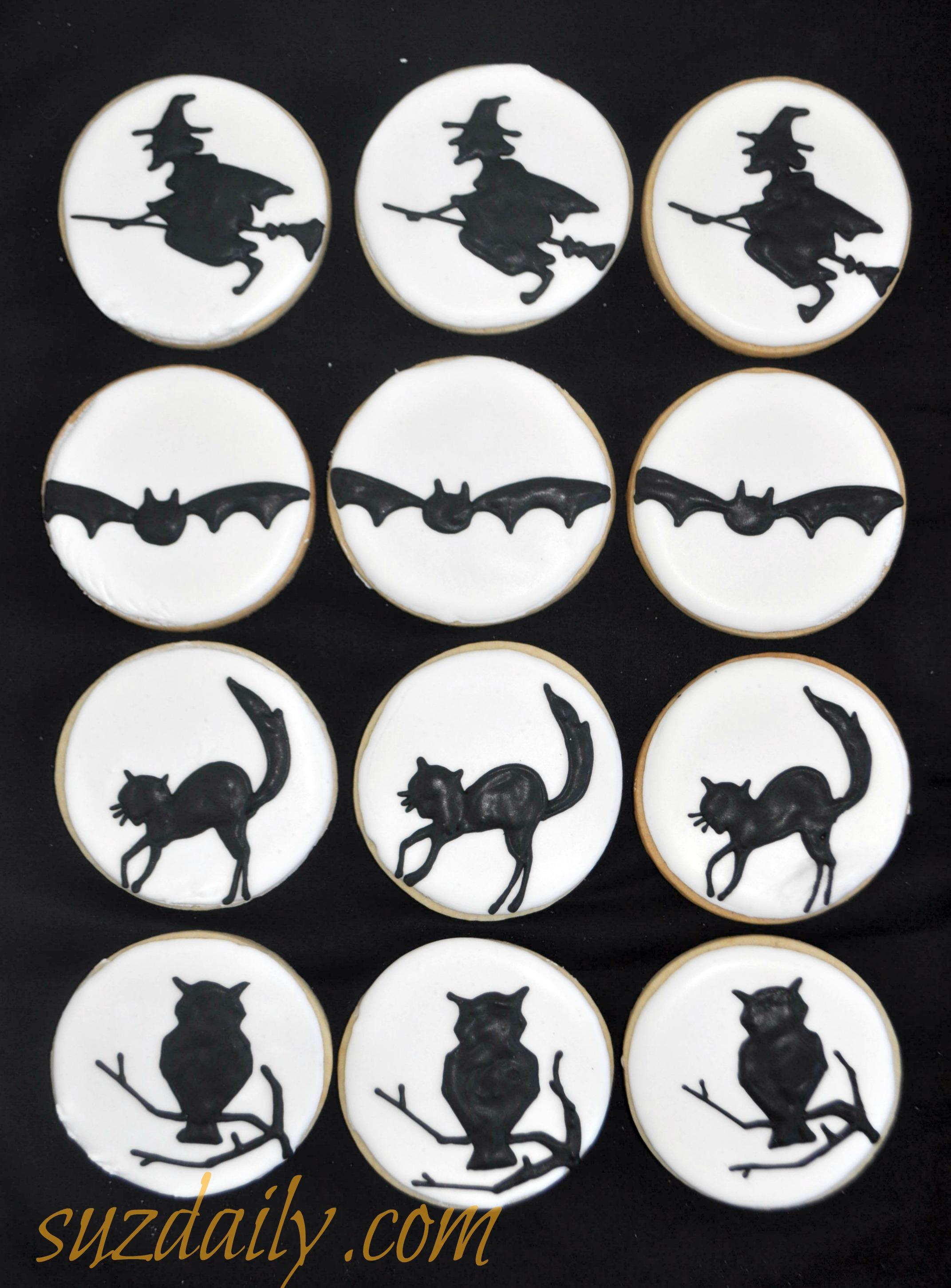 here - Halloween Cookie Decorations