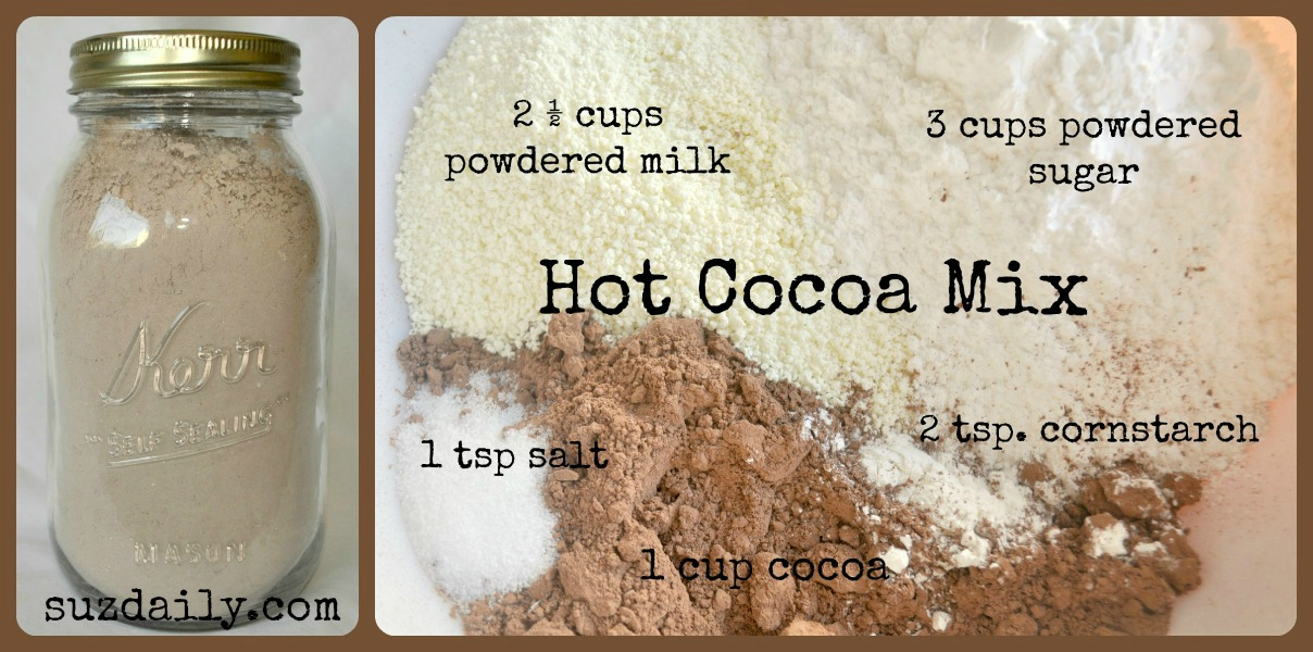 How to make Hot Chocolate Mix with Powdered Milk
