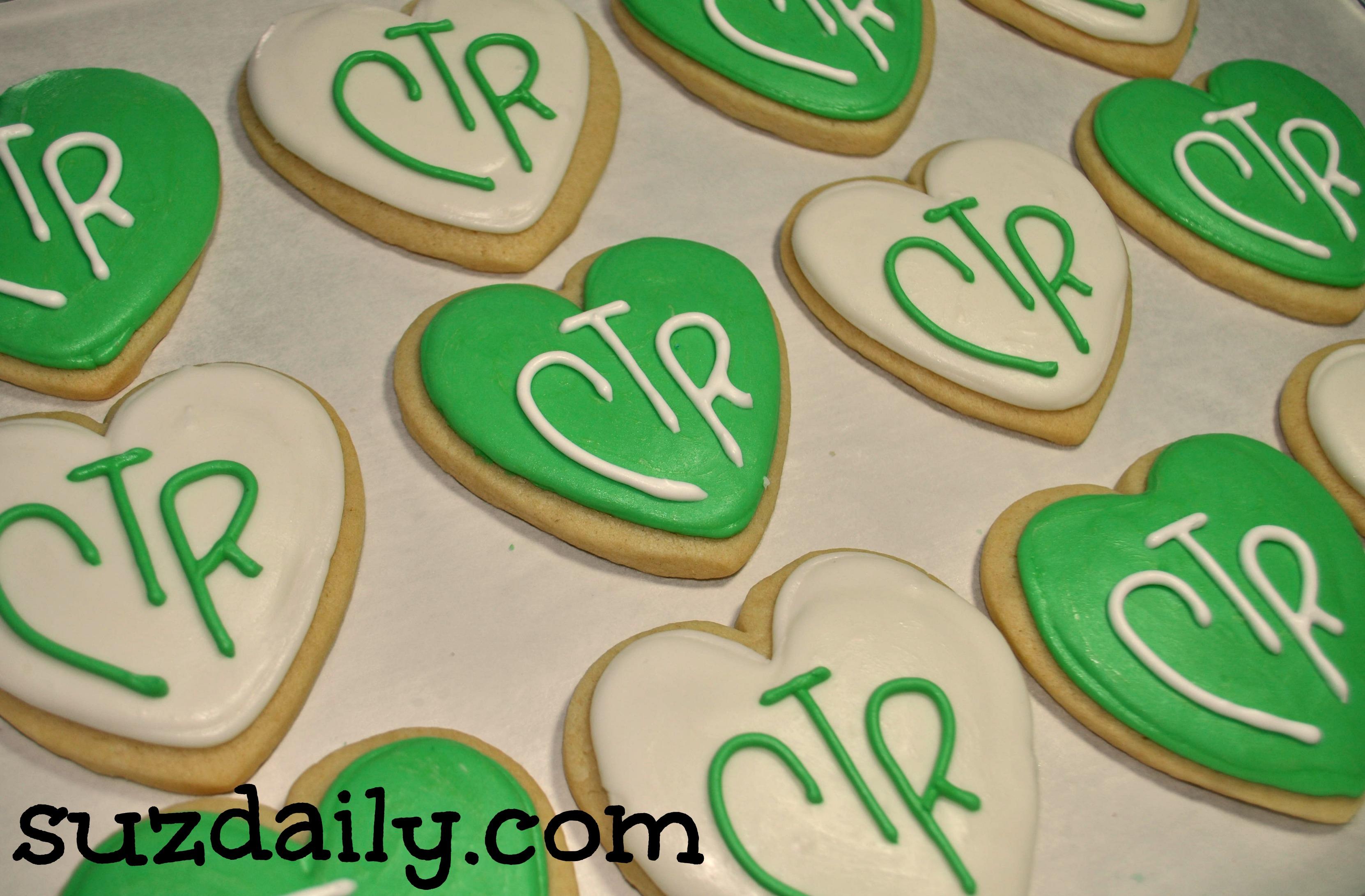 CTR Cookies for Valentines Day