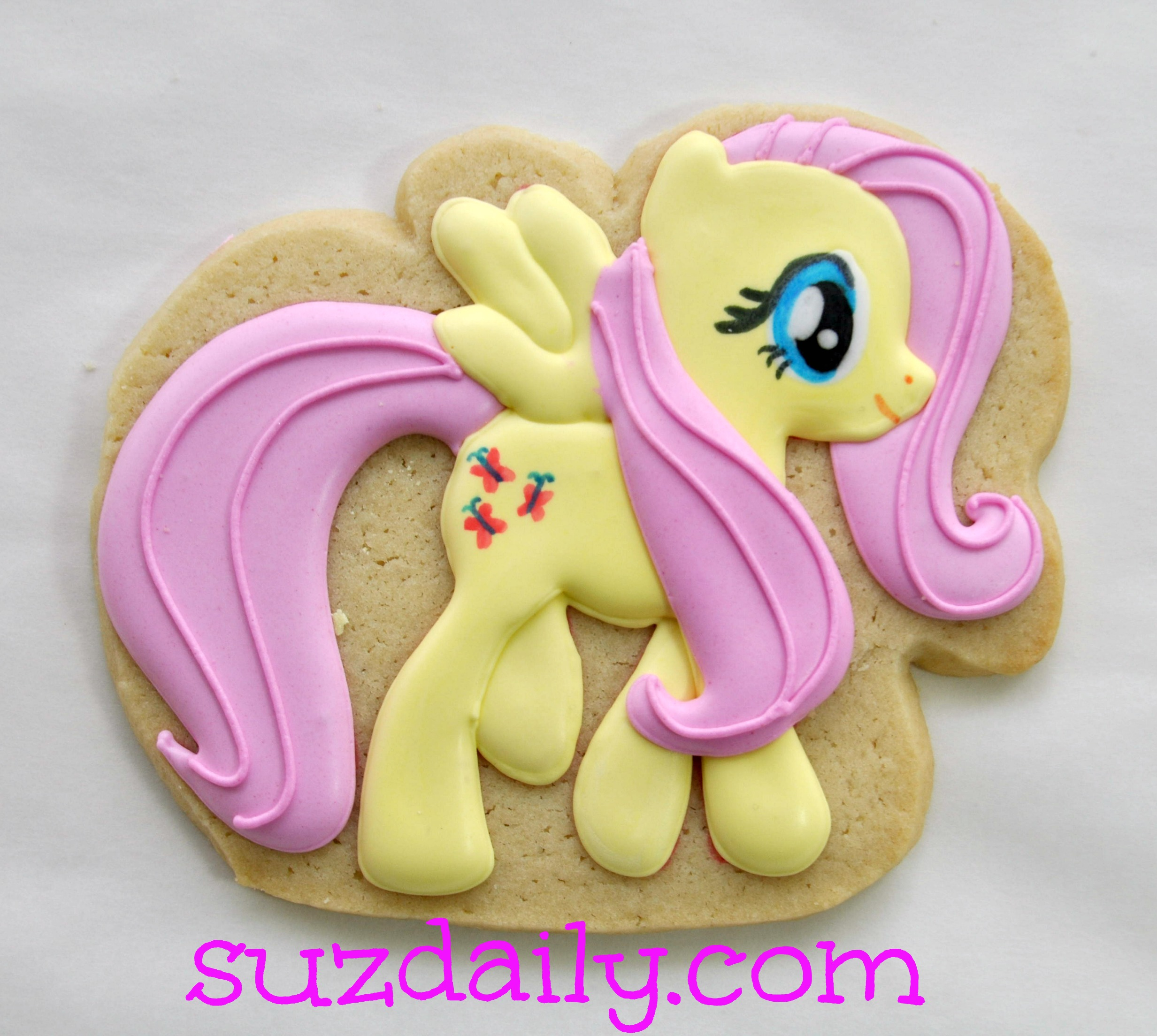 How To Make A My Little Pony Cookie Suz Daily
