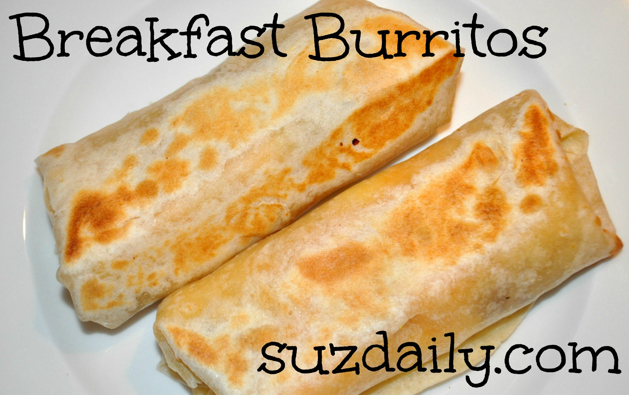 Breakfast Burritos
