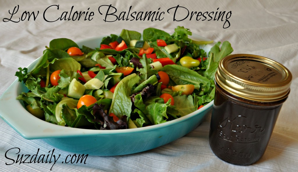 low calorie balsamic dressing