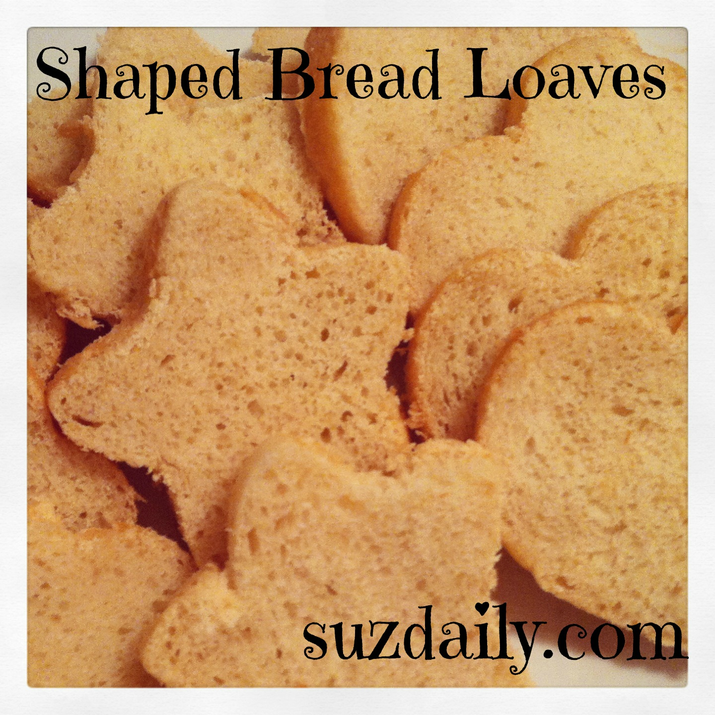 Shaped Loaves of Bread – How to use Canape Bread molds