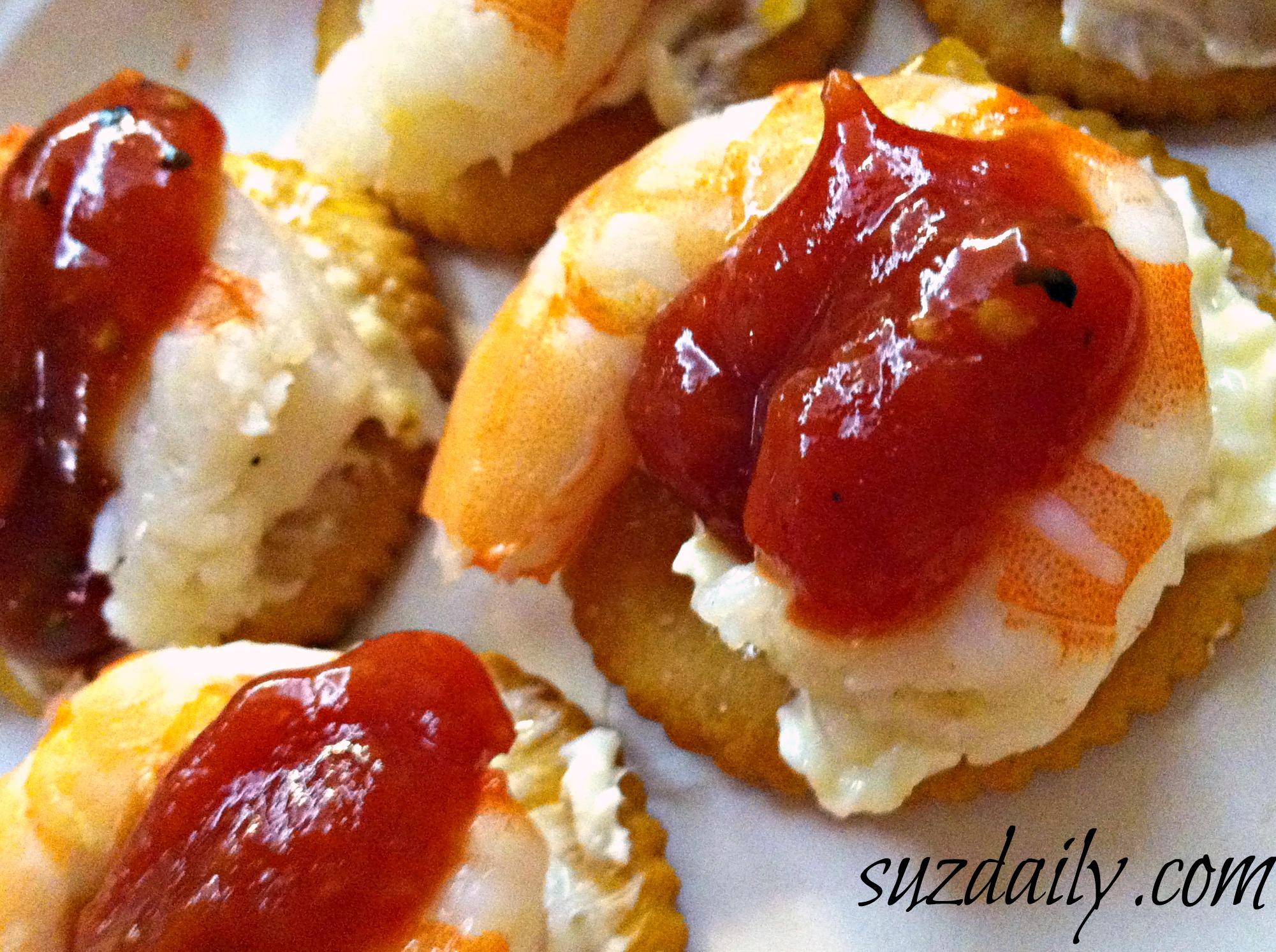 Ritz Cracker Shrimp Appetizer