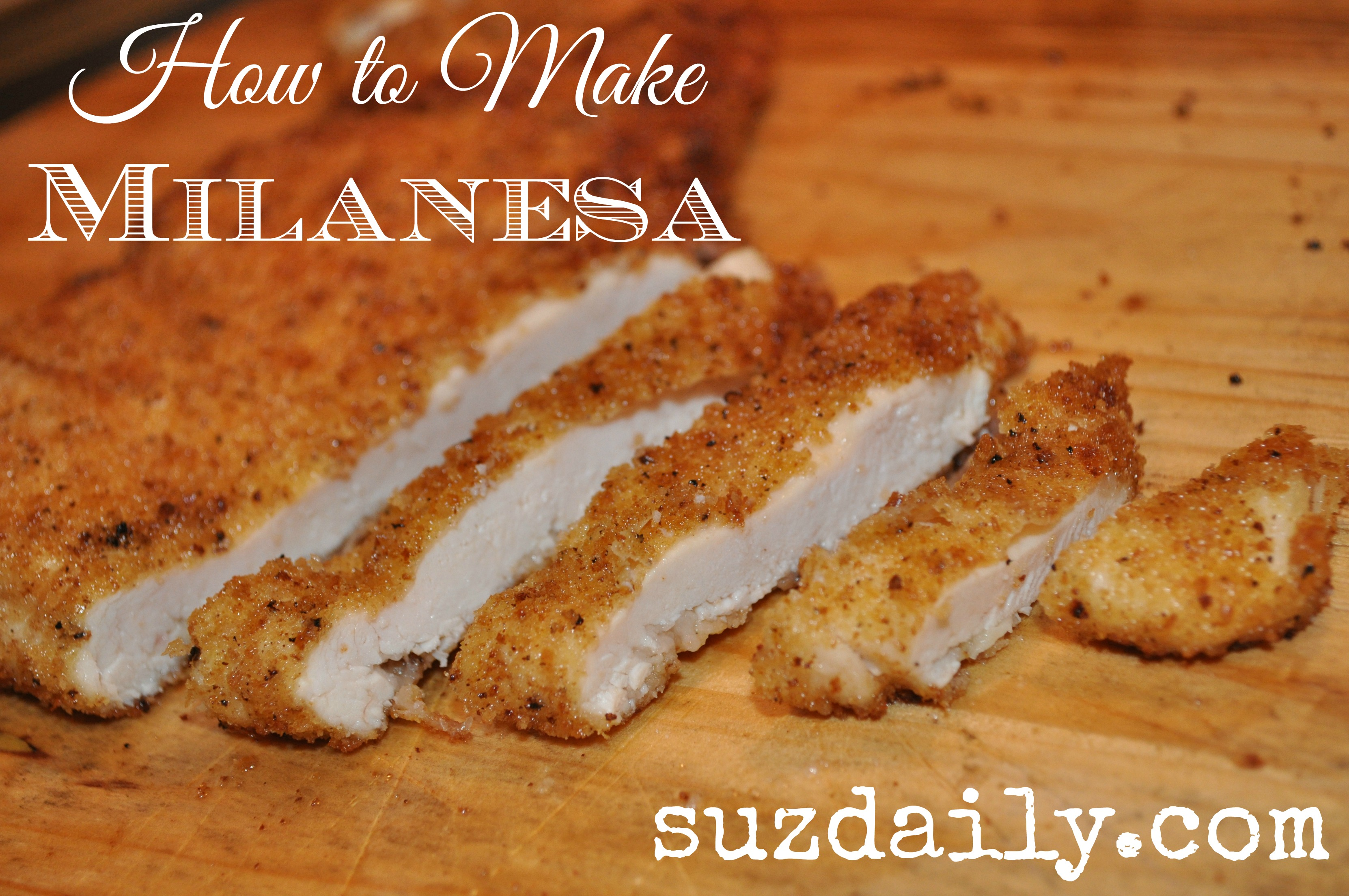 How to Make Milanesa