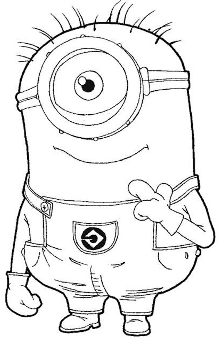 Here is the minion image I used to get my measurements for the minion ...