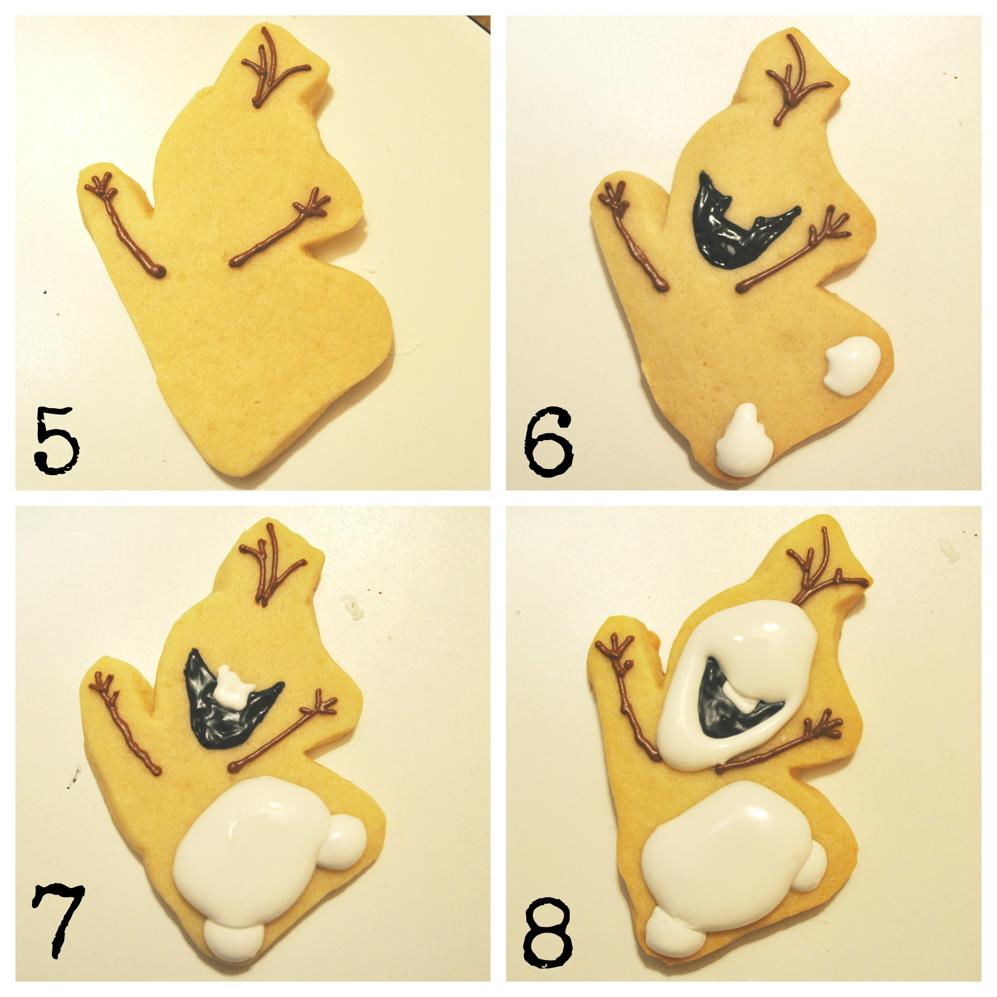 ... to Make Disney Frozen Cookies – How to Make Olaf Cookies | Suz Daily