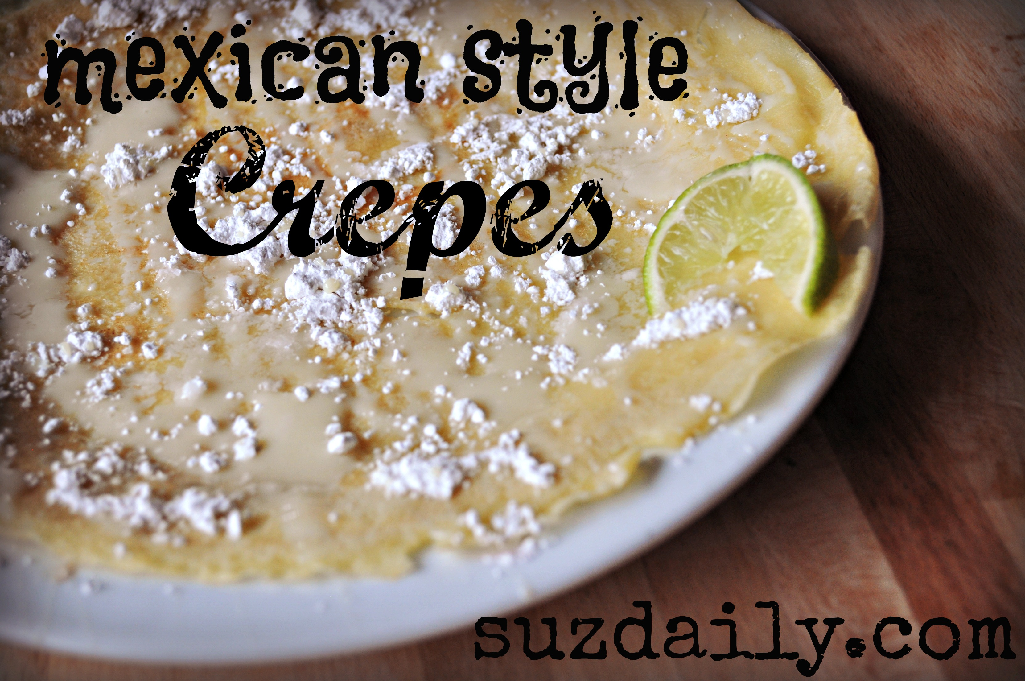 Mexican Style Crepes