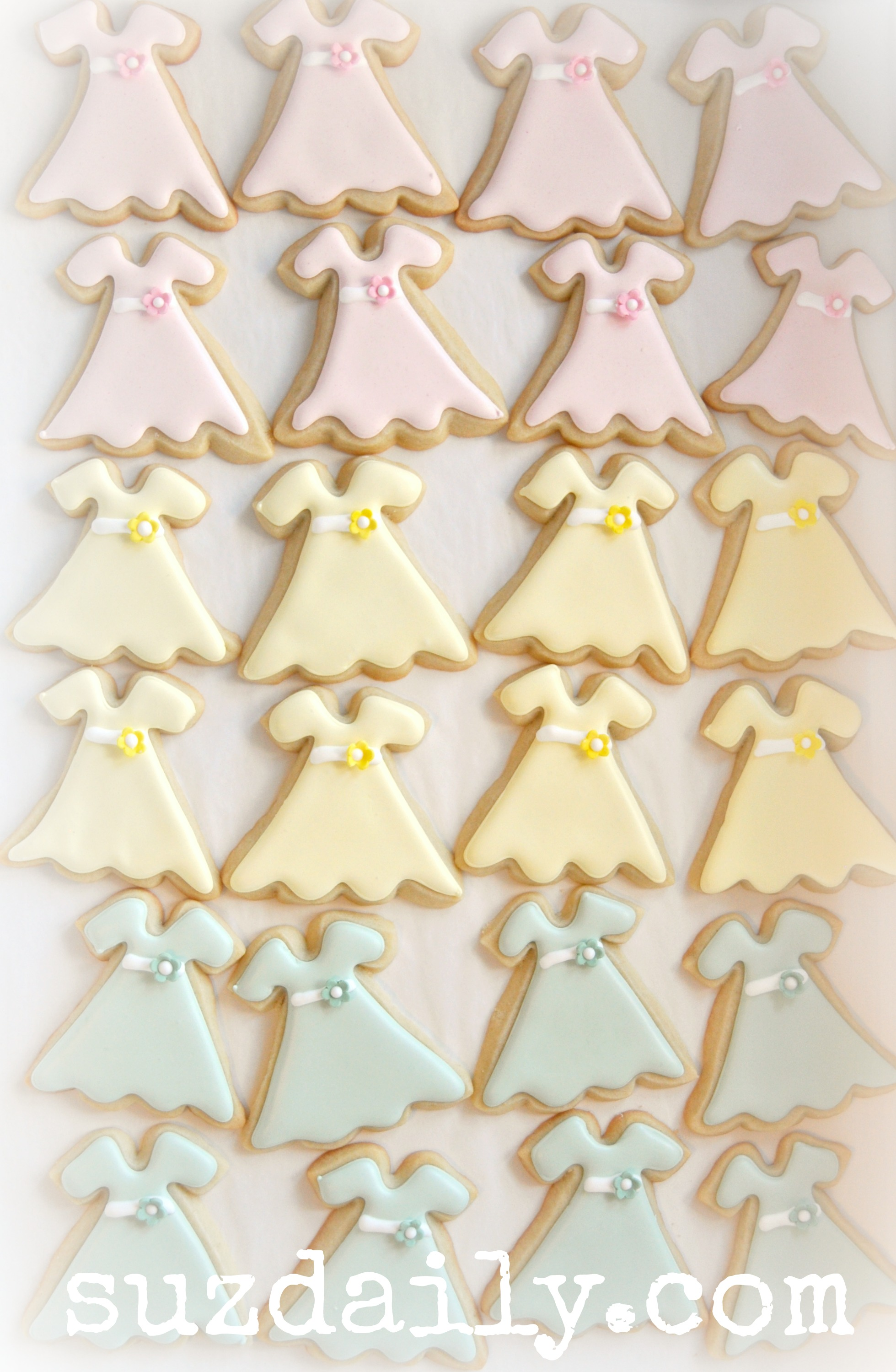 One Hundred Dresses Cookies
