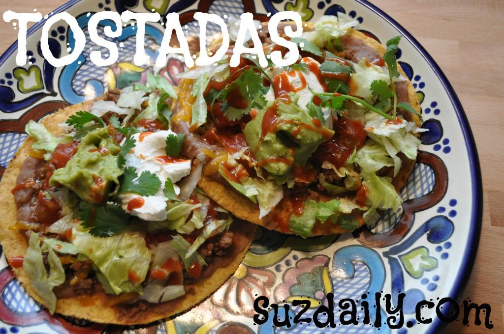 How to Make Tostadas | Suz Daily