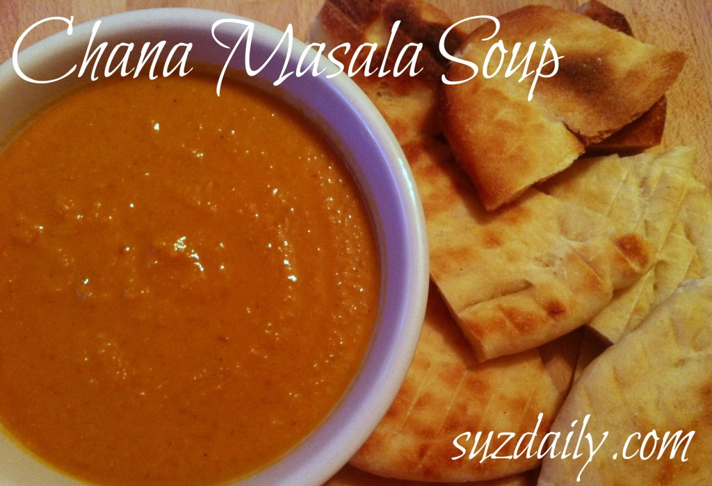 chana masala soup