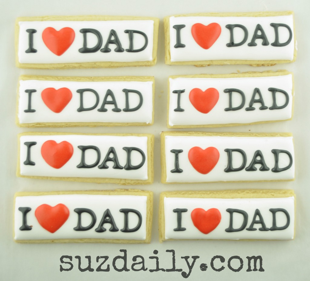 father's day cookies 2