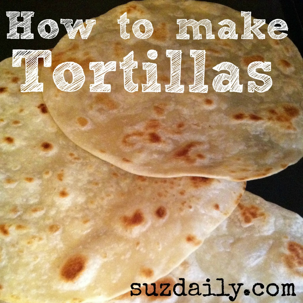 how to make tortillas 1